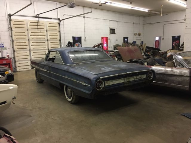 1964 Ford Galaxie 1964 GALAXIE FASTBACK  BIG BLOCK 390 4 SPEED