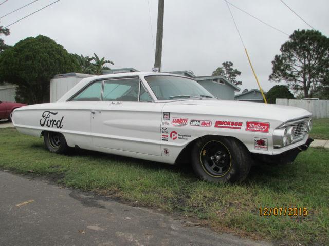 1964 Ford Galaxie 500 Xl Vintage Stock Car Look Nascar Hot Rod