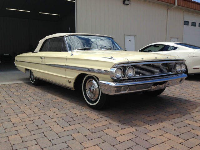 1964 ford galaxie 500xl factory 427 convertible real 44 500 original miles for sale. Black Bedroom Furniture Sets. Home Design Ideas