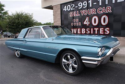 1964 Teal Ford Thunderbird 2 Door Coupe Coupe with Teal interior