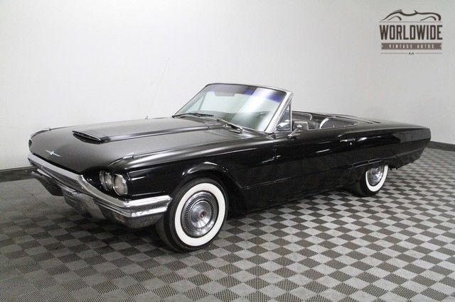 1964 Ford Thunderbird Convertible! Gorgeous Tuxedo Edition.