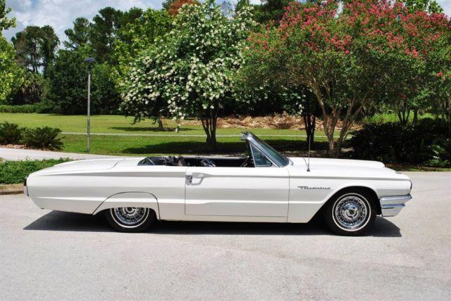 1964 ford thunderbird convertible z code 390 v8 ps pb kelsey hayes rh topclassiccarsforsale com