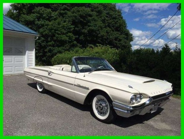 1964 Ford Thunderbird Sports Roadster Convertible