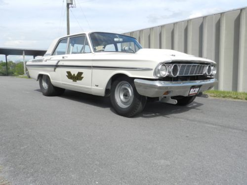 1964 Ford Thunderbolt Aluminum Front Bumper Lightweight panels 427