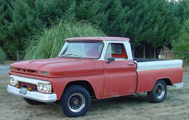 1964 GMC 1/2 Ton SWB 1/2 Ton Short Wide Box