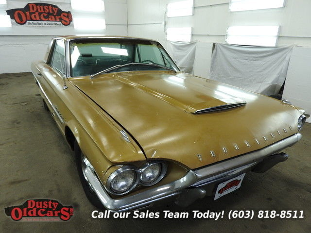 1964 Ford Thunderbird Runs Drives Body Int Fair 352V8 3spd Auto