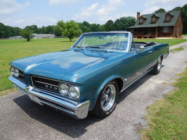 1964 gto clone convertible for sale photos technical specifications description. Black Bedroom Furniture Sets. Home Design Ideas