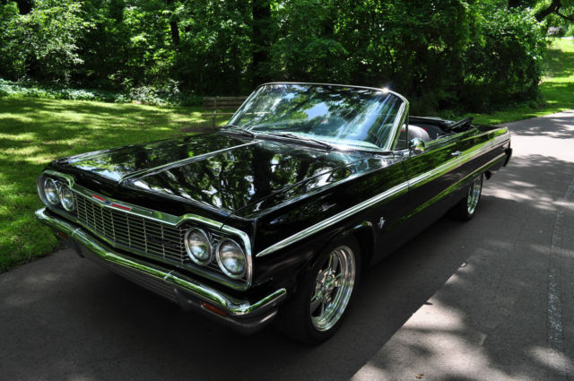 chevrolet model impala submodel ss type convertible trim ss year 1964