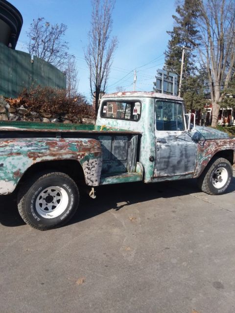 1964 international c1100 pickup 4x4 for sale: photos