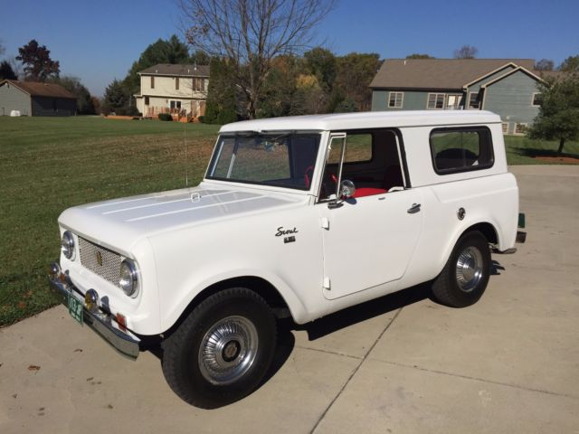 1964 International Harvester Scout Red Carpet Special