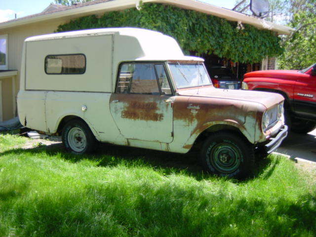 1964 International Harvester Scout Camper