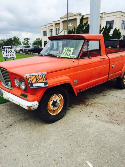 1964 Jeep Gladiator Good Project Restoration For Sale Photos