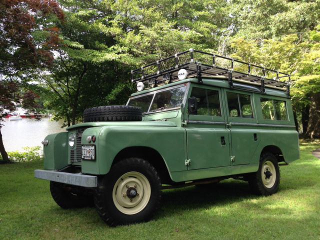 1964 Land Rover  Series IIA 109 Station Wagon