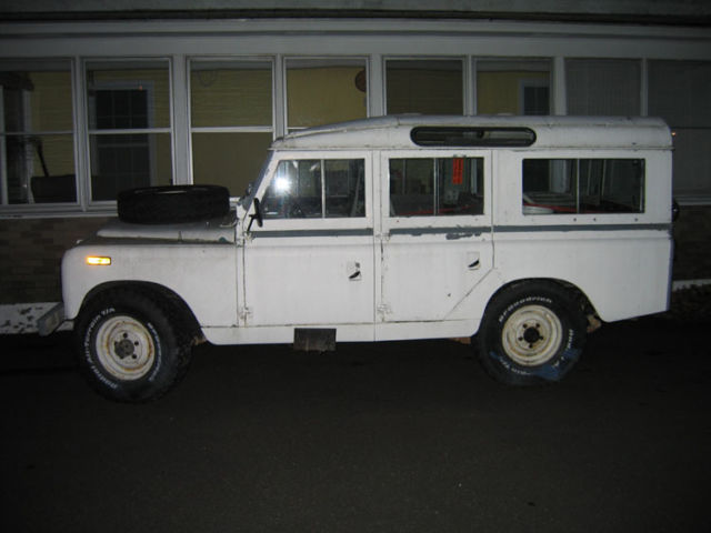 1964 Land Rover Defender 109/LWB/110
