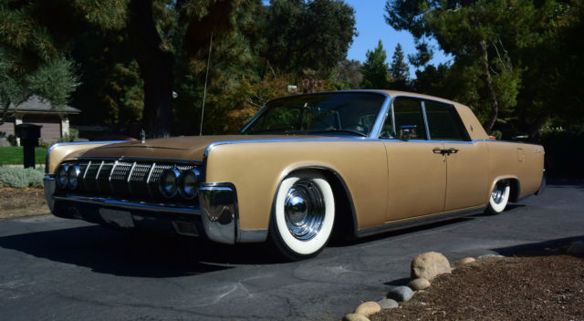1964 lincoln continental 430ci bagged rat rod style. Black Bedroom Furniture Sets. Home Design Ideas