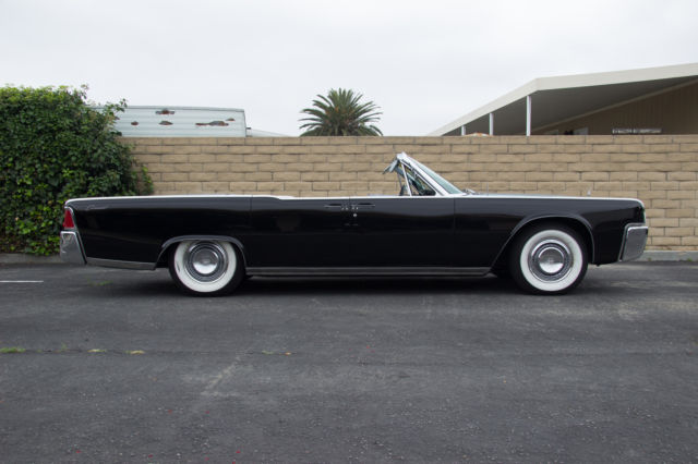 1964 Lincoln Continental Convertible Original Matching S For Sale