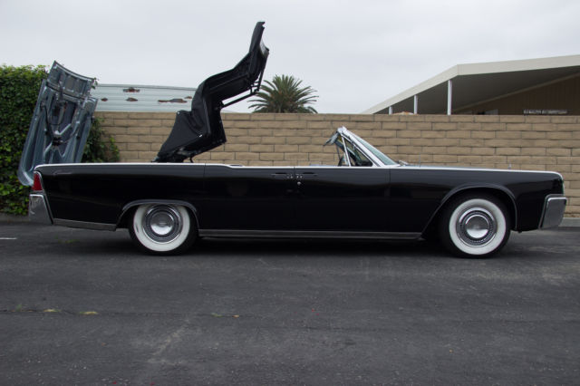 1964 lincoln continental convertible original matching 39 s for sale phot. Black Bedroom Furniture Sets. Home Design Ideas