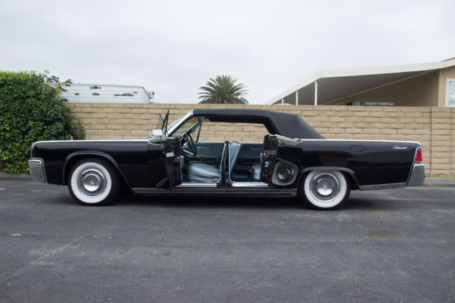 1964 lincoln continental convertible original matching 39 s. Black Bedroom Furniture Sets. Home Design Ideas