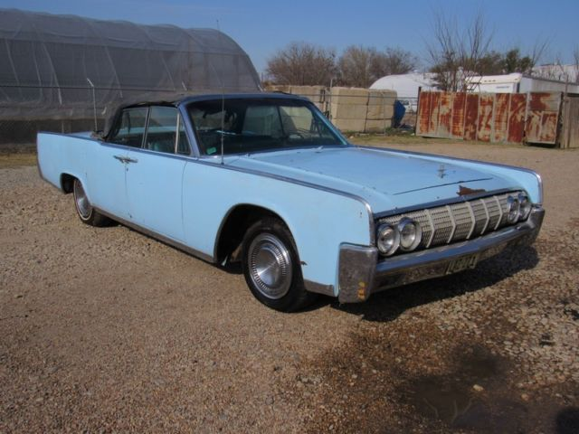 1964 Lincoln Continental CONTINENTAL CONVERTIBLE