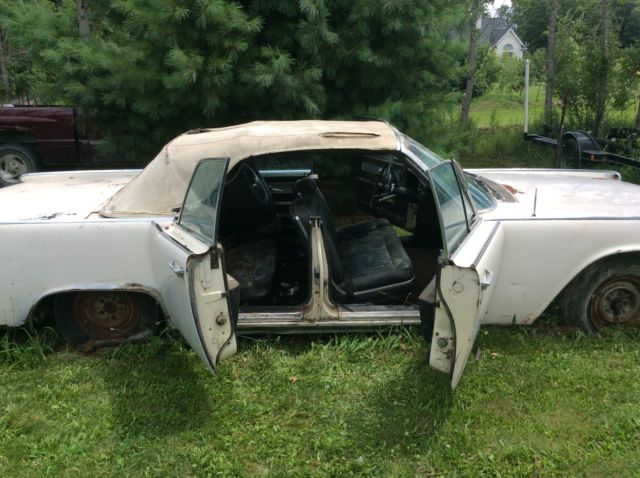 1964 lincoln continental convertible project car parts car for sale photos. Black Bedroom Furniture Sets. Home Design Ideas