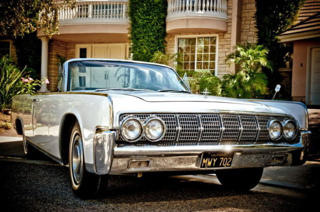 1964 lincoln continental convertible restored beautiful pearl white for sale photos. Black Bedroom Furniture Sets. Home Design Ideas