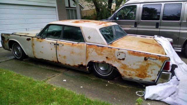 1964 Lincoln Continental - for parts only for sale: photos ...
