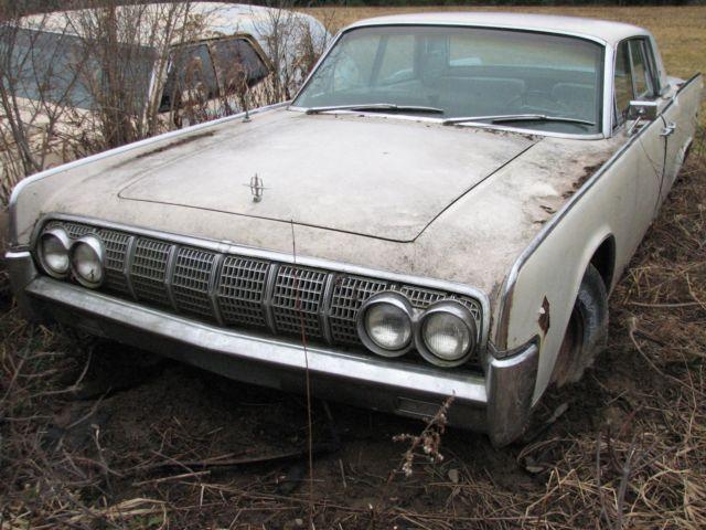 1964 Lincoln Continental Hardtop White Original For Sale Photos