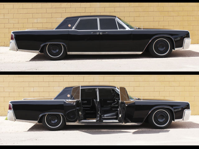 1964 lincoln continental sedan presidential edition daily driver black custom. Black Bedroom Furniture Sets. Home Design Ideas