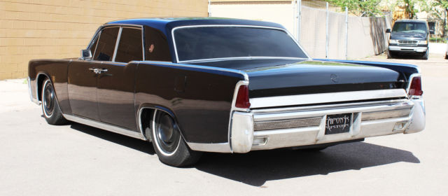 1964 Lincoln Continental Tail Lights  Tail Lights Fins Of