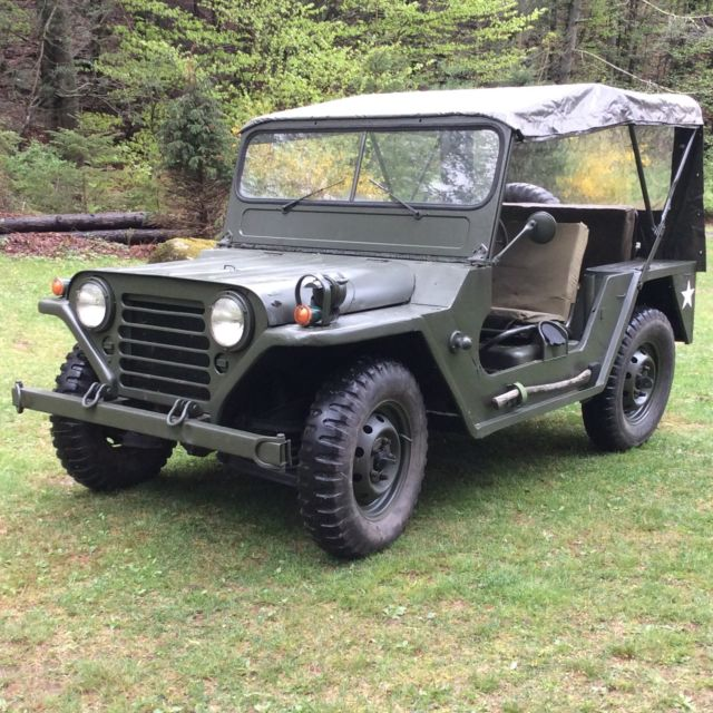 Military Jeep For Sale >> 1964 M151a1 Military Jeep Mutt M151a2 For Sale Photos Technical