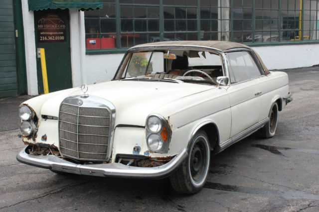 1964 mercedes 220se oprea coupe manual gearbox for sale for 1965 mercedes benz 220se for sale