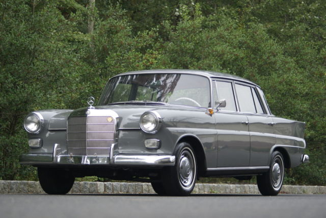 1964 mercedes benz 190d heckflosse w110 diesel very nice clean example for sale photos. Black Bedroom Furniture Sets. Home Design Ideas