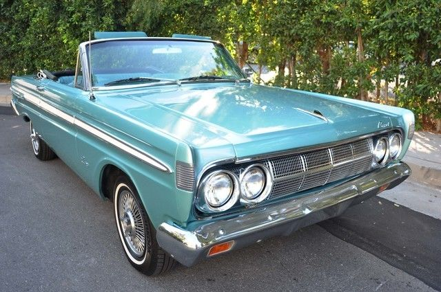 1964 Mercury Comet Caliente Convertible, California Car