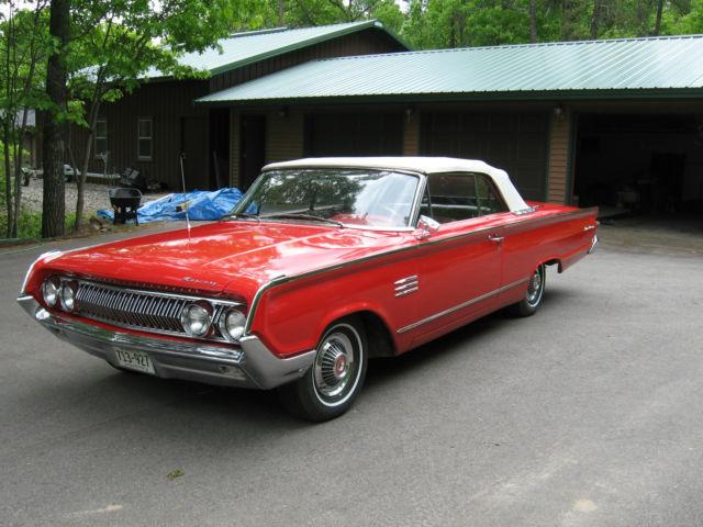1964 Mercury Monterey Convertible 390 V8 Auto Trans For