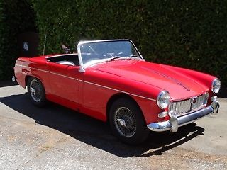 Mg midget vin numbers