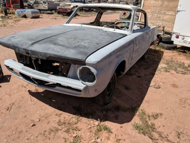 1964 Plymouth Barracuda Cuda Used Mopar project car 4 speed