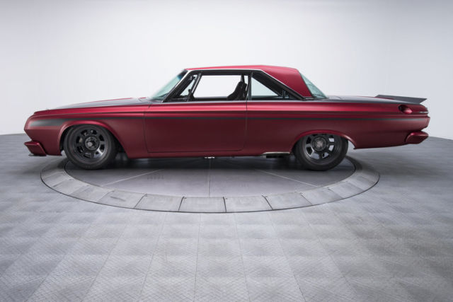 1964 Burgundy Plymouth Other Hardtop with Black interior