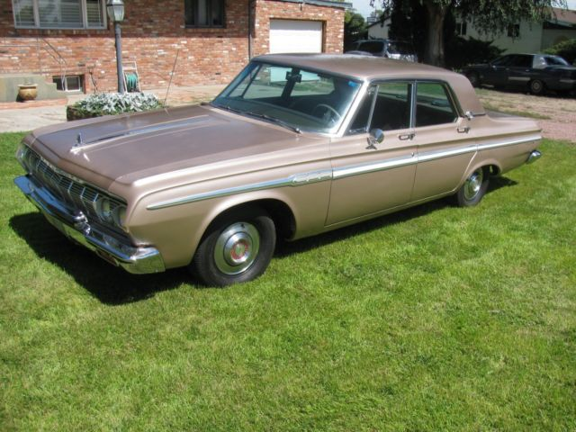 1964 Plymouth Fury Sedan, Semi Hemi Poly Head 318 motor/ 75,000 original miles