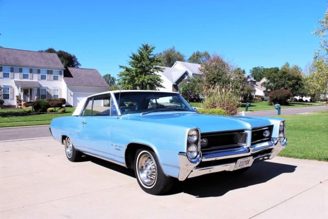 1964 Pontiac Grand Prix RARE 8 LUG WHEELS