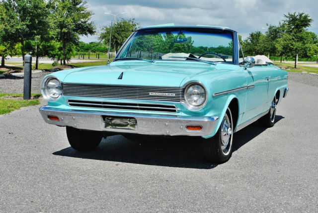 1964 AMC Rambler So very rare twin stick overdrive sweet ride.