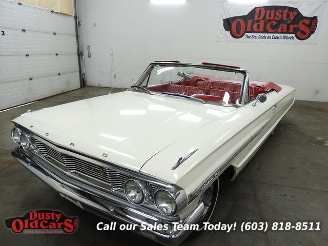 1964 Ford Galaxie Runs Drives Body Inter Excel 1 Own Orig 31k Miles