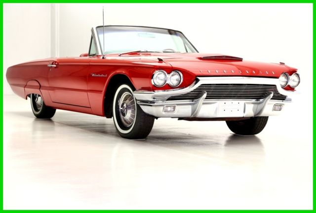 1964 Ford Thunderbird Red/Red Nice