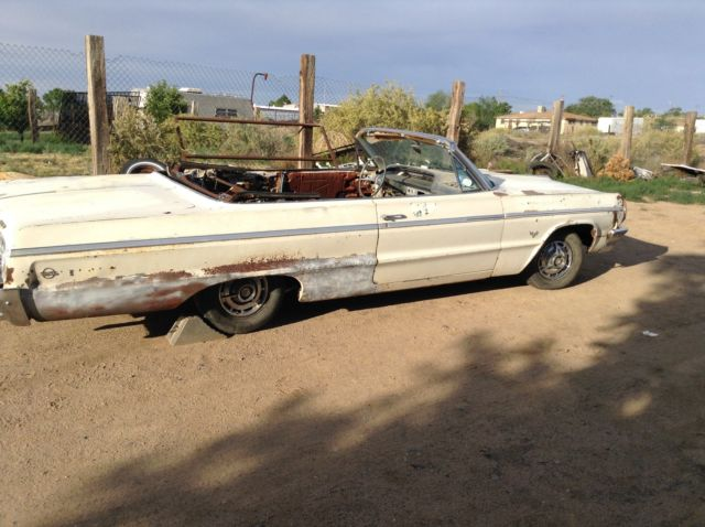 1964 ss chevy impala convertible new mexico car for sale photos technical specifications. Black Bedroom Furniture Sets. Home Design Ideas