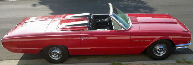 1964 Ford Thunderbird 2 Seater Tonneau Option