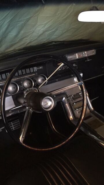 1964 Black Ford Thunderbird Coupe Coupe with Black interior