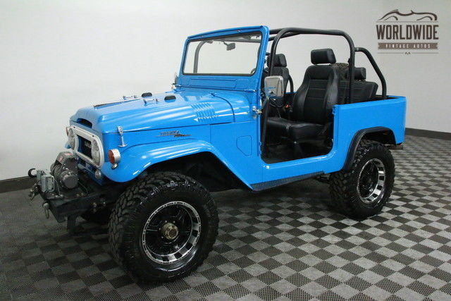 1964 Toyota Land Cruiser RESTORED CUSTOM. REBUILT 2F!