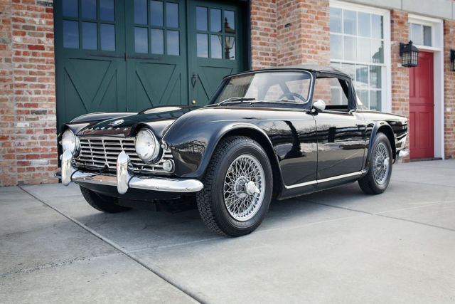 1964 Triumph TR-4 - One Owner