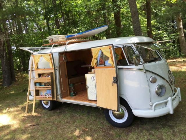 1964 volkswagen vw bus camper for sale photos technical specifications description. Black Bedroom Furniture Sets. Home Design Ideas