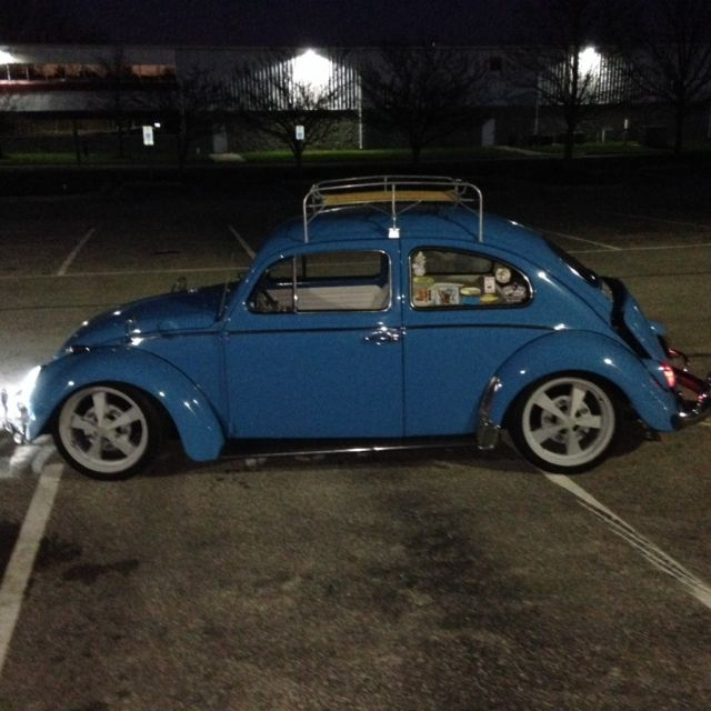 1964 Volkswagon Beetle,vintage,rat Rod,custom,cruiser,low
