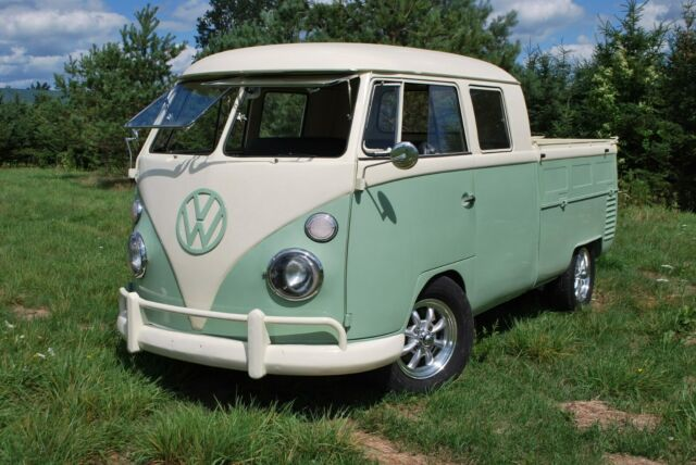 1964 VW T1 DoKa Double Cab, Crew Cab.  Totally restored
